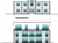 Ansichten für Verkaufsunterlagen Eingang und Garten | KLICK = Foto vergrößern