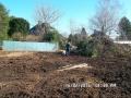 Gerodetes Grundstück Februar 2016 Südecke| KLICK = Foto vergrößern