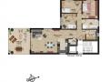 Wohnung 9 - 4 Zimmer| KLICK = Foto vergrößern