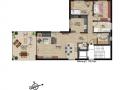 Wohnung 9 - Alternative 3 Zimmer| KLICK = Foto vergrößern